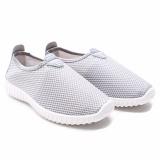 Dr Kevin Sepatu Slip On Wanita 5307 Abu Sepatu Casual Wanita Sneaker Wanita Diskon Akhir Tahun