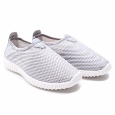 Jual Dr Kevin Sepatu Slip On Wanita 5307 Abu Sepatu Casual Wanita Sneaker Wanita Jawa Barat Murah