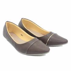 Jual Dr Kevin Women Balerina Flat Shoes 43211 Coklat Murah