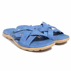 Jual Dr Kevin Women Flat Sandals 27361 Blue Grosir