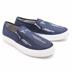 Jual Dr Kevin Women Sneakers Slip On 43179 Blue Dr Kevin Branded