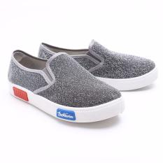 Harga Dr Kevin Women Sneakers Slip On 43180 Silver Asli Dr Kevin