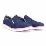 Review Dr Kevin Women Sneakers Slip On 43210 Navy Jawa Barat