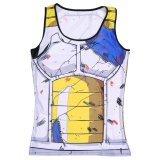 Dragon Ball Singlet Tank Top Pria Kebugaran Rompi Binaraga Gold S Hot Stringer Sleeveless Shirt Pakaian Putih Intl Oem Diskon 30