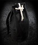 Beli Drawstring Canvas Bucket Gym Bag Portable Backpack Hitam Tc Murah Di Dki Jakarta