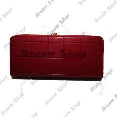 Dream Shop - Dompet Wanita Termurah - Oliver Wallet (Red)