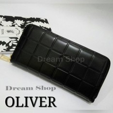 Dream Shop | Jual Dompet Panjang Wanita Cantik Dan Elegan - Oliver Wallet - Hitam
