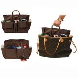 Ulasan Lengkap Tentang D Renbellony Bag Organizer Active Mm Coklat Tas Organizer Bag In Bag Tas Wanita Dalaman Tas