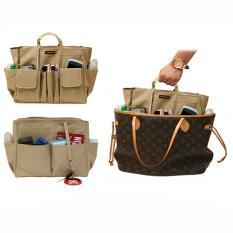 Spesifikasi D Renbellony Bag Organizer Active Mm Khaki Tas Organizer Bag In Bag Tas Wanita Dalaman Tas Yang Bagus