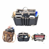 Review Toko D Renbellony Handbag Organizer Light Large Black Tas Organizer Bag Organizer Bag In Bag