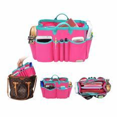 Spesifikasi D Renbellony Handbag Organizer Light Large Magenta Turquoise Bag Organizer Light Tas Organizer Bag In Bag Dalaman Tas Drenbellony Murah Berkualitas