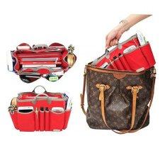 Promo D Renbellony Handbag Organizer Light Large Red Tas Organizer Bag Organizer Bag In Bag Organizer Bag Dalaman Tas D Renbellony