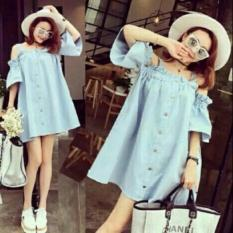 Dres Sabrina Denim Big size