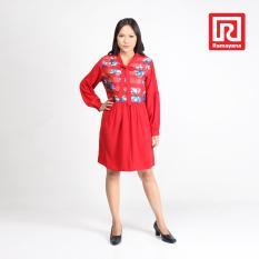 Ulasan Lengkap Ramayana Jj Casual Dress Aiko Kaca Kombinasi Woolpeach Merah Jj Casual 07970177