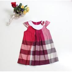 Toko Dress Anak Kotak Pita Merah Dress Online