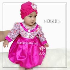 dress baby I gaun muslim anak I gamis anak I setelan baju anak muslimah I blooming