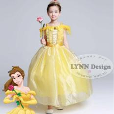 Lynn Design -Dress Baju Kostum Anak Gaun Princess Belle (Beauty & The Beast)_Frozen Friends