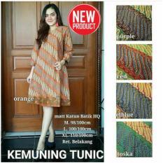 Dress Batik Baju Wanita Cantik - Kemuning Tunik