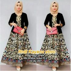Dress Batik   Kebaya   Batik Kondangan   Gamis Wanita Terbaru   Baju Muslim  Wanita Terbaru 00dabf327a
