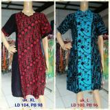 Harga Dress Batik Cap Ld 100 104 Asli Other Brands