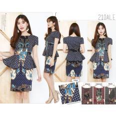 Kualitas Dress Batik Ellian D15