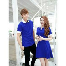Dress Couple Star Terbaru Biru