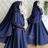 Promo Dress Gamis Fashion Zakiya Syari Full Baloteli Gamis Muslim Terbaru