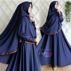 Jual Dress Gamis Fashion Zakiya Syari Full Baloteli Online Di Indonesia