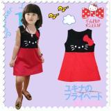 Harga Jualbajulucu Dress Hk Black Red With Ribbon Kid Termurah