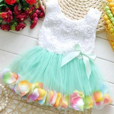 Dress Kid Import High Quality green