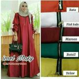 Harga Dress Menyusui Baju Busui Pakaian Muslim Wanita Murah Imel Maxi Multi Ori