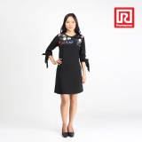 Ramayana Jj Casual Dress Naresha Woolpeach Kombinasi Kaca Hitam Jj Casual 07970185 Jj Diskon 30