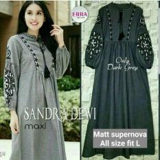 Dress Sehari Hari Murah / Baju Gamis Vintage : Sandra Dewi Maxy
