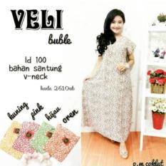 Dress Veli Buble ~ Daster L Piyama L Dress Murahl Batik Murah L Baju Murah Wanita L Katun Jepang