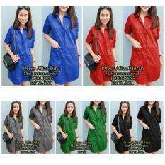 Dress Wanita-Dress-Mini Dress Aliza-Dress Korea-Sw - Vgsumk