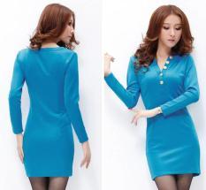 DRESS WANITA IMPORT E7308 HIGH QUALITY