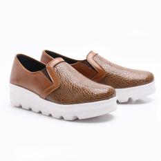 Jual Dr Kevin Women Fashion Flat Shoes 43200 Camel Branded Murah