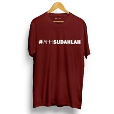 Drooms Kaos/ T-Shirt Pria/ Wanita #AhhSudahlah Lengan Pendek