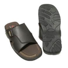 Dryrha Sandal Pria Slop - BG140 - Coklat