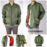 Harga Ds Jaket Bomber Hijau Army Ds Online