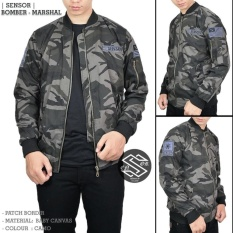 Jual Beli Ds Jaket Bomber Pria Canvas Army