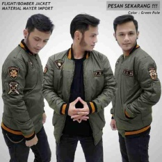 Review Ds Jaket Bomber Pria Import Hijau Army Den S Di Jawa Barat