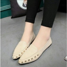 Dshoppers Shoes - Flatshoes Rockstude Gum