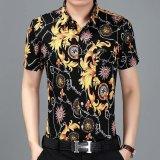 Beli Dtx 67 Musim Panas Baru Pria Lengan Pendek Shirt Youth Fashion Trend Gaya Musim Panas Biru Intl Murah Tiongkok