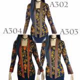 Jual Dua Melati Atasan Blouse Batik Kutu Baru Tunik Kemeja Blus La303 Di Indonesia