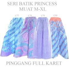 Jual Dua Melati Bawahan Batik Celana Kulot Klok Panjang Batik C78 Dua Melati Branded