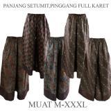 Jual Dua Melati Celana Kulot Klok Panjang Batik Sogan C38C39C40C41C42 Satu Set