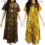 Jual Beli Dua Melati Longdress Terusan Batik Sogan Gamis La299