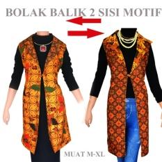 Dua Melati Outer Batik Jas Panjang Bolero Cardigan Rompi Panjang vest A191a 4f6a37dc8f