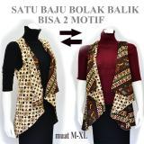 Dua Melati Tunik Batik Jas Panjang Bolero Cardigan Rompi Panjang A307 Original